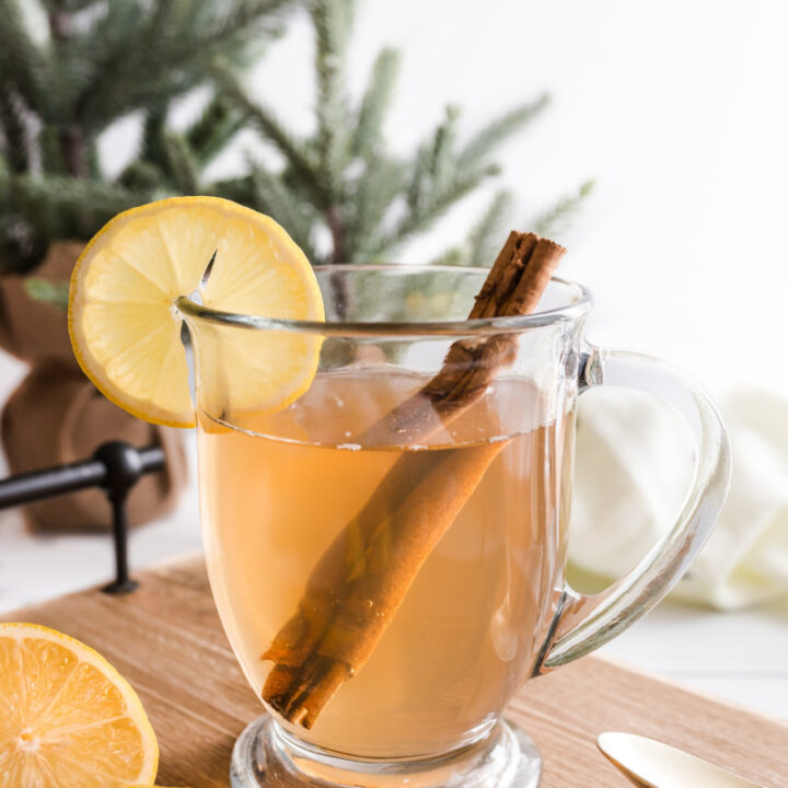 hot toddy with lemon