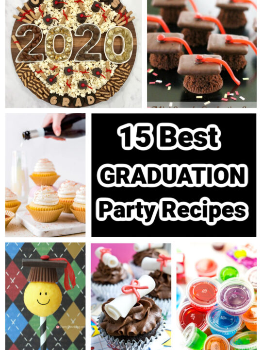 Best Graduation Party Recipes collage
