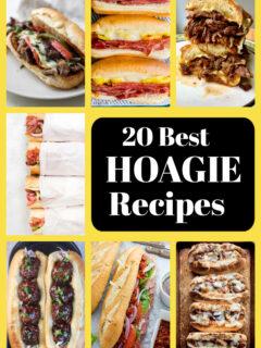 pinterest image for 20 best hoagie recipes