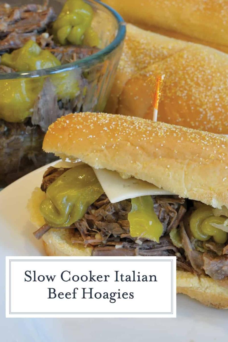 italian beef hoagie