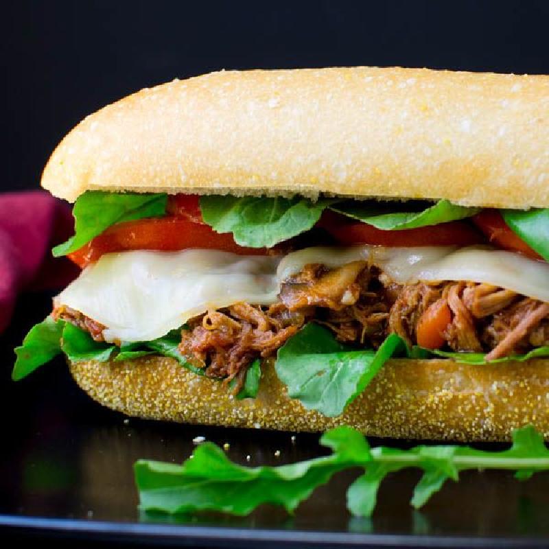 pork italian hoagie