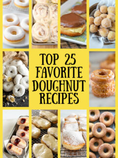 25 favorite doughnut recipes collage