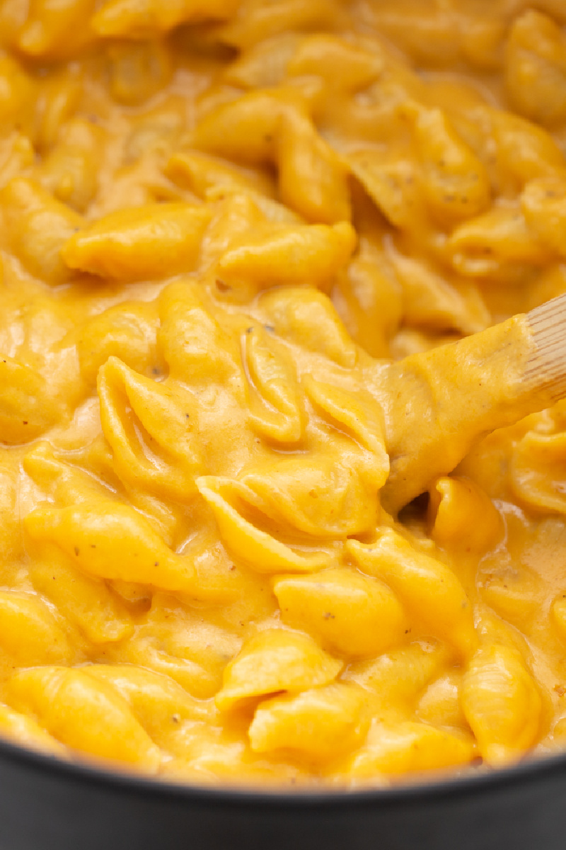 30 minute macaroni and cheese in a pan