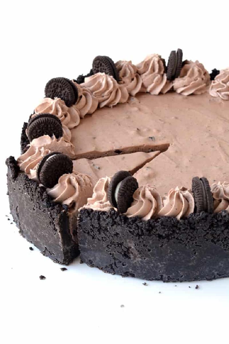 chocolate brownie ice cream pie