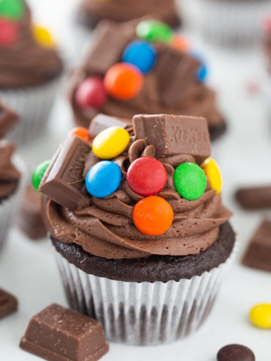 chocolate overload cupcake